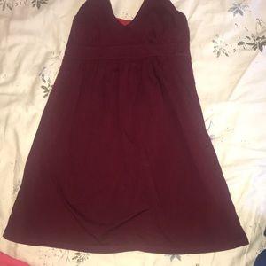 Halter cover up dress
